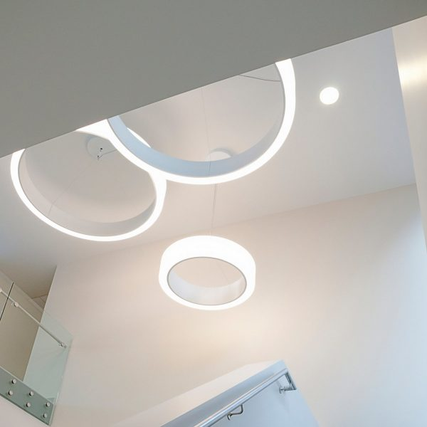 Bubble 1000 arco led dynamic white cerchio lighting 005