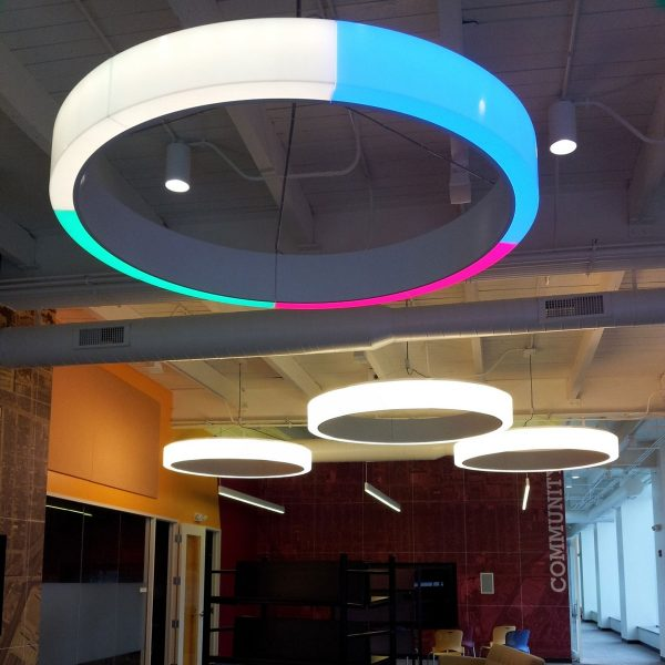 Bubble 1800 RGB DMX cerchio lighting 009