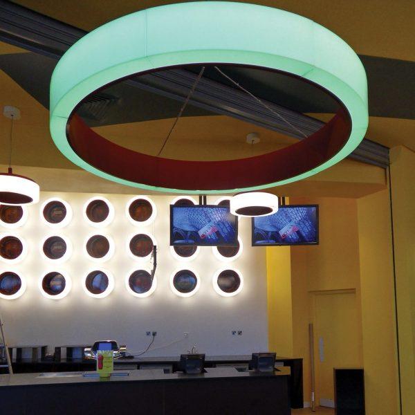 Bubble 1800 RGB DMX cerchio lighting 010