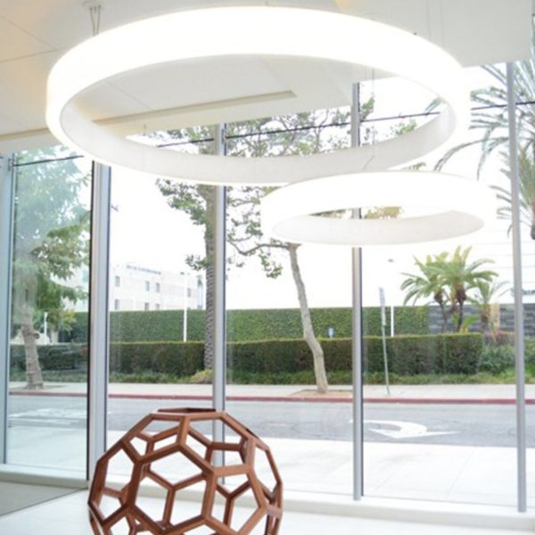 Bubble 3000 ArcoLED Dynamic White suspended with joint 007