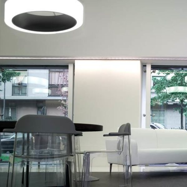 Bubble 600 ArcoLED Stable White cerchio lighting 002