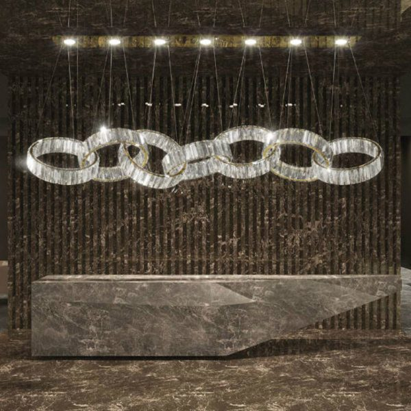 Olympia Cerchio Lighting 05704207A