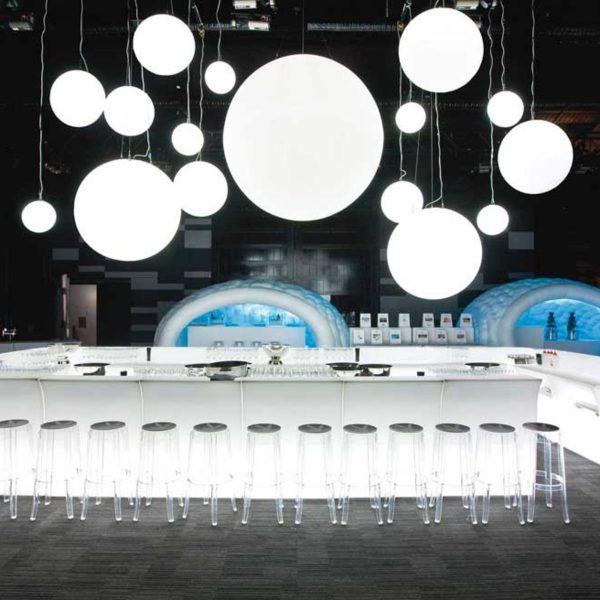 Globo Hanging cerchio lighting 008