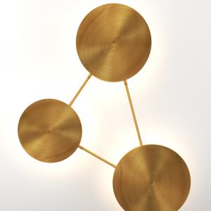 Aura Circles Wall Lamp